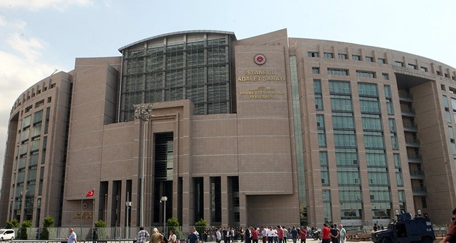 Main Istanbul Courthouse at Çağlayan (Sabah File Photo)