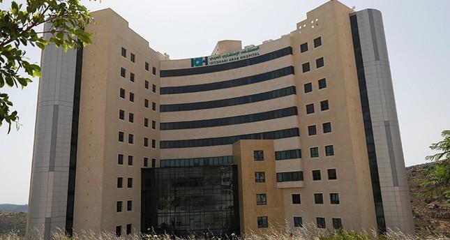 المستشفى الاستشاري بمدينة رام الله حيث يرقد عباس ويجري فحوصات طبية