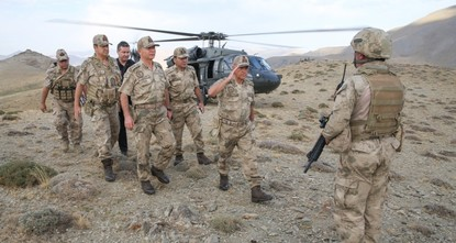 'Mountains completely cleared of PKK': Turkish general