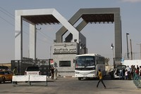 Israel cuts gas, fuel to Gaza as Egypt shuts Rafah gate