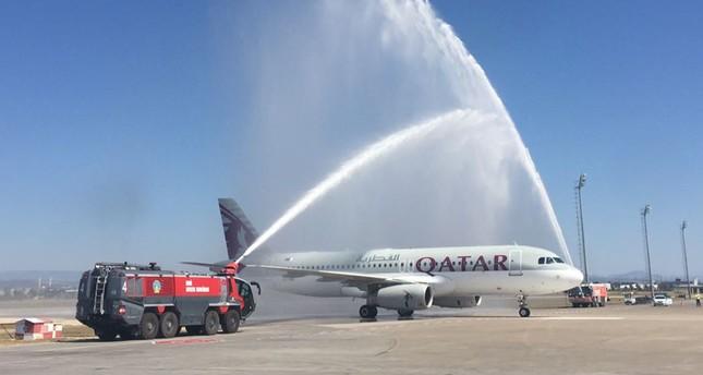 الخطوط القطرية تدشن أولى رحلاتها من الدوحة إلى أنطاليا التركية