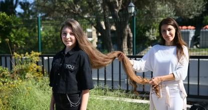 فتاة تركية تحطّم الرقم القياسي بطول الشعر