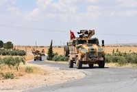 US, Turkish troops begin training for joint patrols in Syria's Manbij