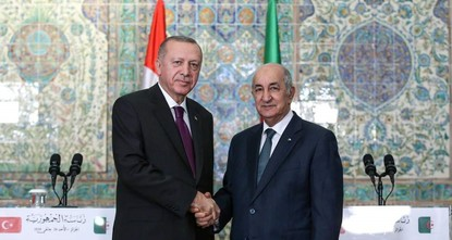 Algerian dailies hail Erdoğan's visit