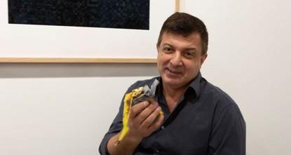 Man eats $120,000 piece of art, a banana taped to wall