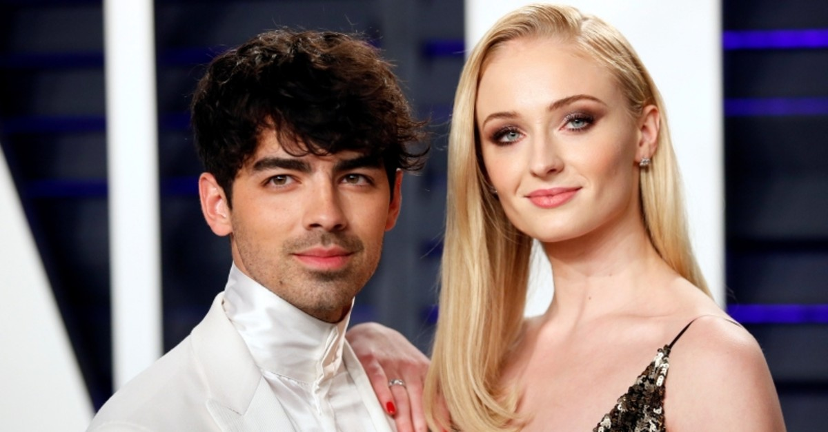 91st Academy Awards u2013 Vanity Fair u2013 Beverly Hills, California, U.S., February 24, 2019 u2013 Joe Jonas and Sophie Turner. (Reuters Photo)