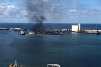قرار الحكومة الليبية جاء بعد هجوم استهدف ميناء الشعب في طرابلس