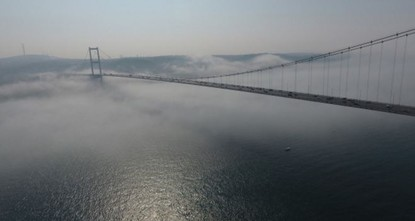 pHeavy fog disrupted ferry services and flights in Istanbul on Tuesday and Wednesday./p