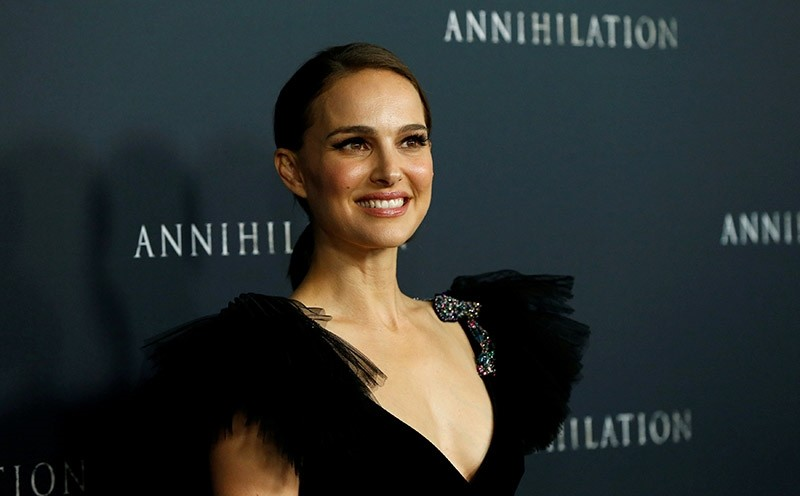 Cast member Natalie Portman poses at the premiere for ,Annihilation, in Los Angeles, California, U.S., February 13, 2018. (Reuters Photo)