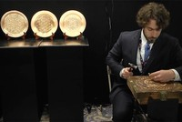 US citizen Martin Moon was educated by masters, for 10 weeks in Gaziantep to be able to learn copper artisanship, which is one of the outstanding branches of Traditional Turkish Handcraft.  Under...
