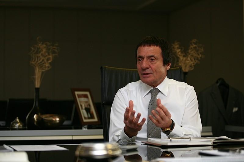 Zorlu Holding CEO Ahmet Nazif Zorlu (Sabah File Photo)