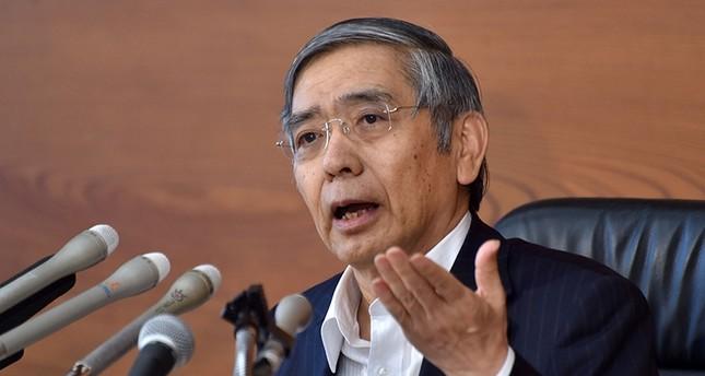 Der Chef der Bank von Japan (BoJ) Haruhiko Kuroda (AFP Foto)