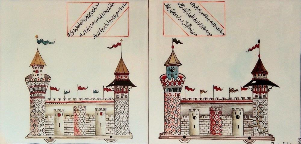 Deniz Erdou011fan, ,Castle u2013 Tower,