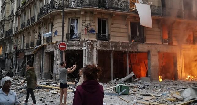 الشرطة الفرنسية: انفجار قوي وسط باريس