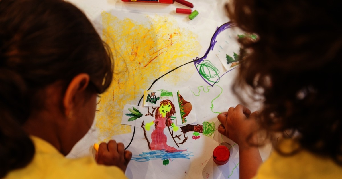 Inspired by the ,You Tell Me, exhibition, children will paint images from fairy tales in the workshop.