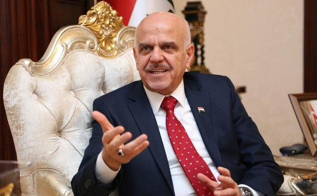 Speaking on Turkey's stance over the water problem in Iraq, Iraqi envoy Hussain Mahmood Alkhateeb said that the country aims to work on projects that will resolve the issue as part of their plans to utilize loans effectively.