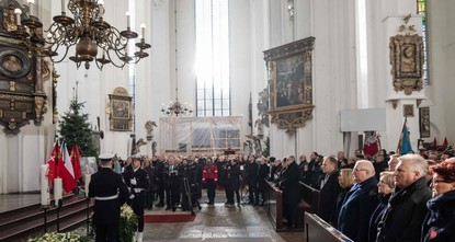 At least 45,000 attend the funeral of Gdansk mayor