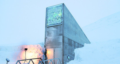 pNorway is repairing the entrance of a doomsday seed vault on an Arctic island after an unexpected thaw of permafrost let water into a building meant as a deep freeze to safeguard the world's food...