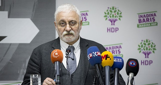 HDP spokesman Saruhan Oluç (AA Photo)