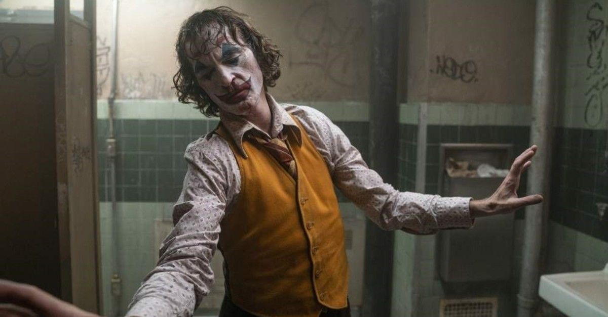 This image released by Warner Bros. Pictures shows Joaquin Phoenix in a scene from ,Joker., (AP Photo)