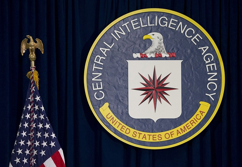 This April 13, 2016 file photo shows the seal of the Central Intelligence Agency at CIA headquarters in Langley, Va. (AP Photo)