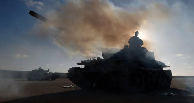 الوفاق الليبية تسيطر على مدينة غريان في ضربة قاسية لقوات حفتر