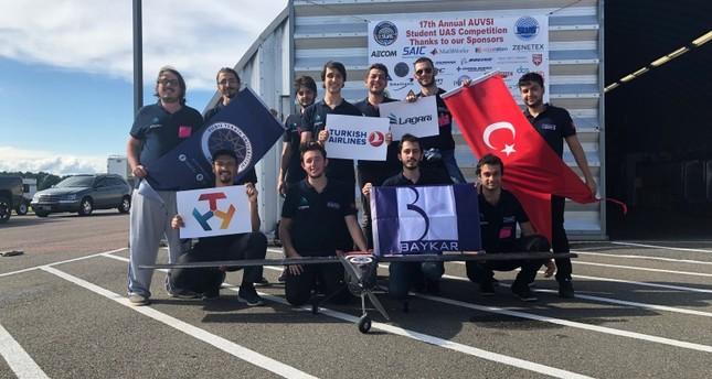 فريق تركي ينال المرتبة الثالثة في مسابقة طائرات مسيرة بالولايات المتحدة