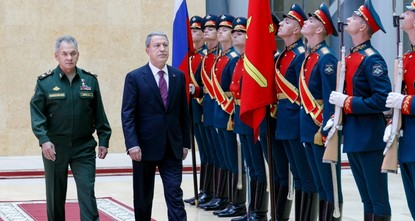 Defense Minister Akar, intelligence chief visit Moscow to discuss Syria