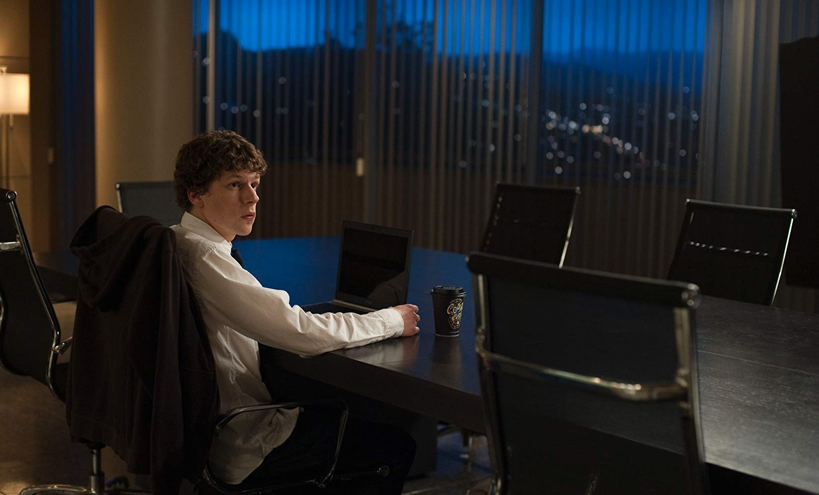 Jesse Eisenberg plays the founder of Facebook, Mark Zuckerberg, in u201cThe Social Network.u201d