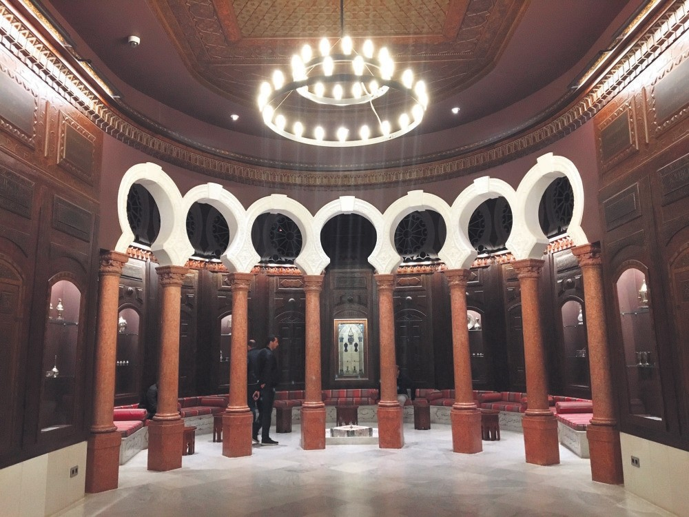 The Salon Arabe inside the Sursock Museum is a throwback to the 1930s when Nicolas Ibrahim Sursock hosted dignitaries and intellectuals in his lavish mansion.