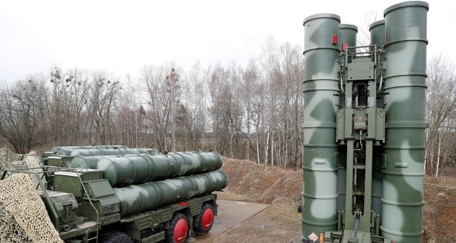 A view shows a new S-400 Triumph surface-to-air missile system after its deployment at a military base outside the town of Gvardeysk near Kaliningrad, Russia March 11, 2019. (Reuters Photo)