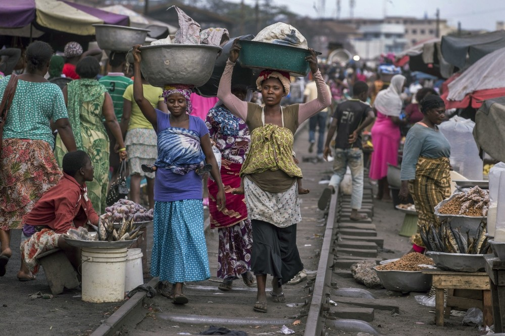 Women make up the majority of Accra's informal workers, who account for over 80 percent of the city's working population.