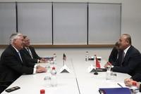 FM Çavuşoğlu, US Secretary of State Tillerson discuss FETÖ, PYD and Cyprus