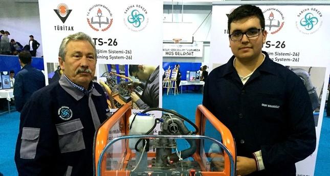 Школьник в Турции изобрёл турбореактивный двигатель, работающий на 6 видах топлива
