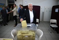 VP's Perinçek receives less votes than signatures backing candidacy
