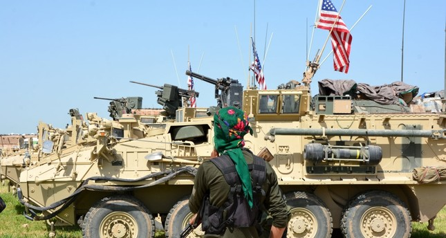 US continues arms support to YPG