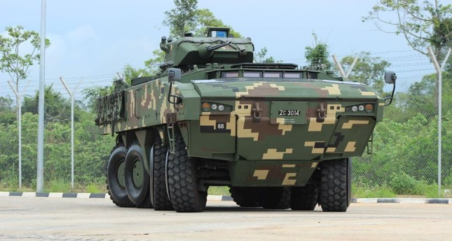 The AV-8 Gempita is developed and produced by FNNS Defense Systems for Malaysia.