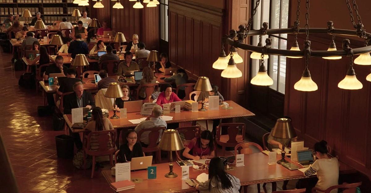 A still from the film u201cEx Libris: The New York Public Library.u201d