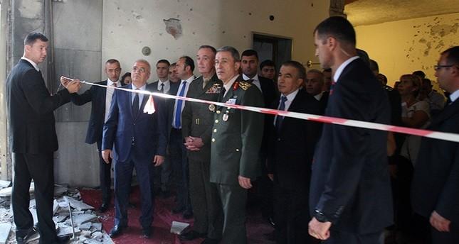 إلتقى يلدريم وأكار.. رئيس أركان الجيش الأمريكي يشيد بشجاعة النواب الأتراك