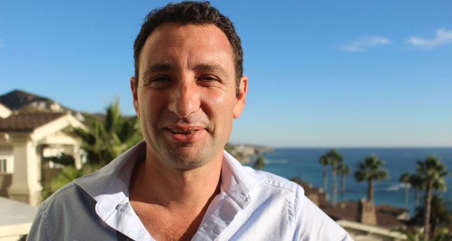 Eviation Aircraft co-founder and CEO Omer Bar-Yohay poses during a break at the WSJD Live conference in Laguna Beach.