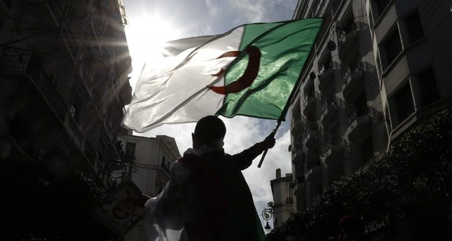 Thousands mark Algerian protest movement anniversary