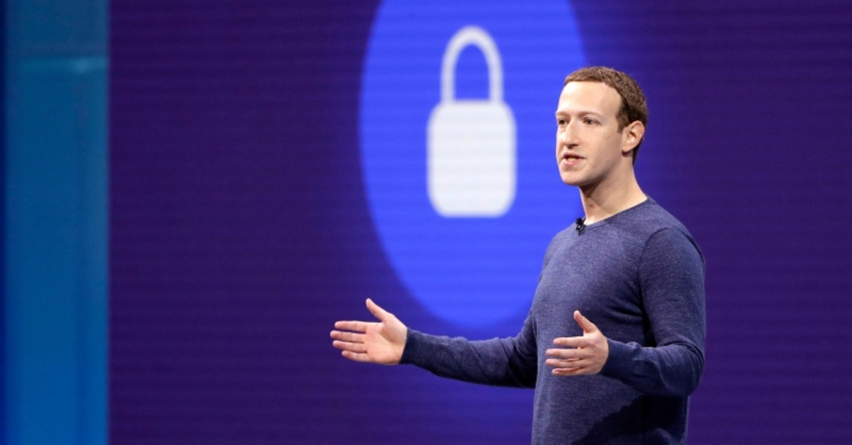 In this May 1, 2018, file photo, Facebook CEO Mark Zuckerberg makes the keynote speech at F8, Facebook's developer conference in San Jose, Calif. (AP Photo)