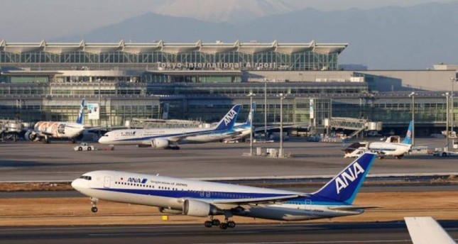 All Nippon Airways (ANA) Boeing 767 takes off from the Tokyo International Airport, commonly known as Haneda Airport, Tokyo, Japan, Jan. 10, 2018. (Reuters Photo)