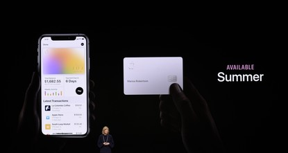 Apple introduces new credit card as it awaits TV+ launch