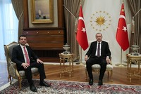 Erdoğan meets with CHP's Istanbul candidate Imamoğlu