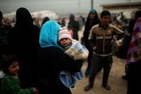 |Aus Mossul flüchtende Zivilisten (Reuters Foto)