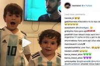 لقطة شاشة من فيديو نشره ميسي على حسابه في أنستغرام