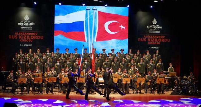 Russia's Alexandrov Ensemble a k a Red Army choir to perform