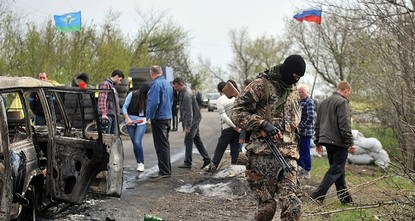 pRussian aggression is to blame for violence in eastern Ukraine, where people are dying in what should be seen as a hot war rather than a frozen conflict, the U.S. special envoy to the Ukraine...