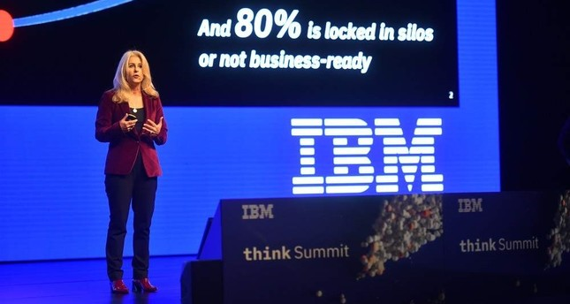 IBM Vice President for Artificial Intelligence and Global Sales Alyse Daghelian.Photos Courtesy of IBM Turkey